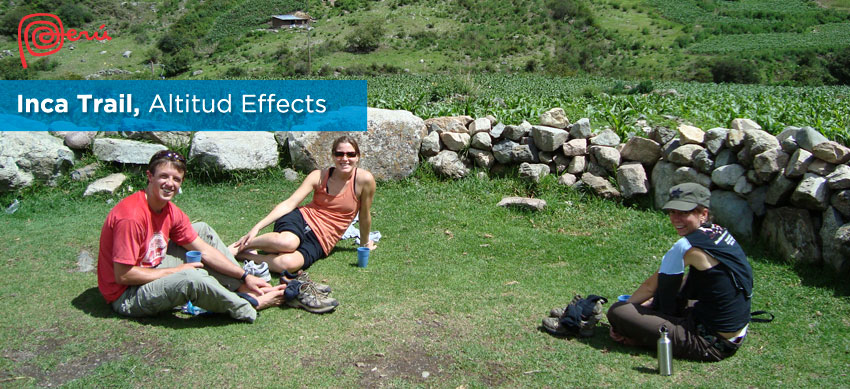 altitude effects inca trail
