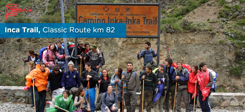 classic route inca trail