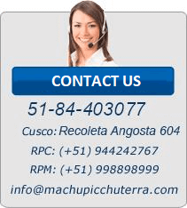 Contact us Inca Jungle