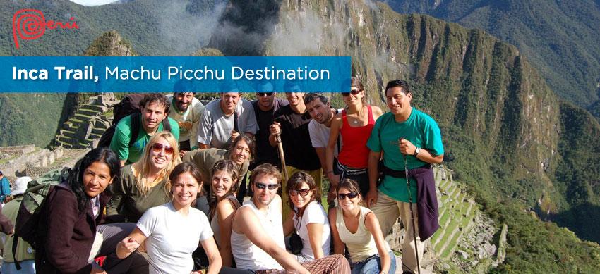 destination machupicchu inca trail
