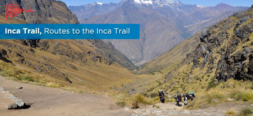 alternatives routes inca trail