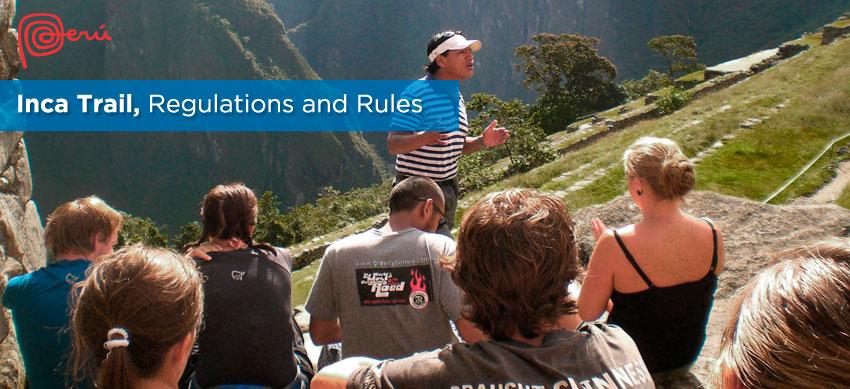 rules inca trail