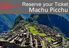 ticket machu picchu