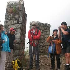 To whom is directed the Inca Trail Machu Picchu