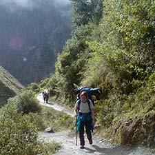 Online availability Inca Trail to Machu Picchu 2021