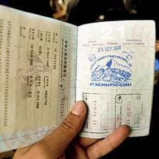 Passport for the Inca Trail?