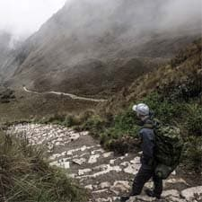 What is the difficulty of the Inca Trail to Machu Picchu?