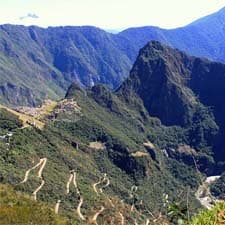 The landscape of the Historic Sanctuary of Machu Picchu