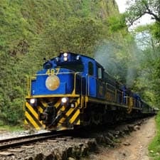 Trains to the Inca Trail and Machu Picchu